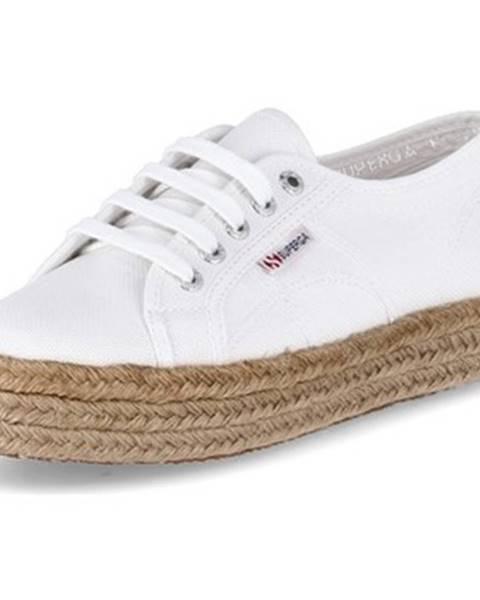Biele topánky Superga
