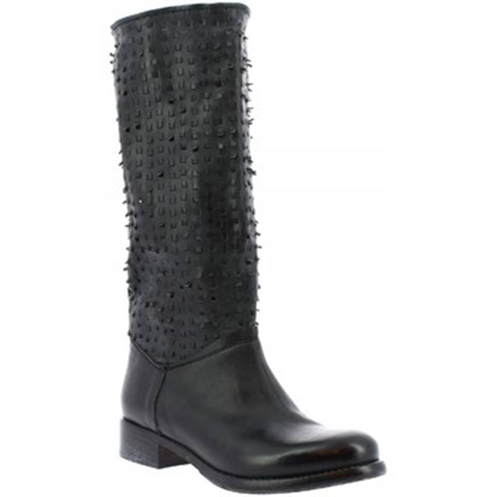 Leonardo Shoes Čižmy do mesta Leonardo Shoes  K310 KIRI NERO