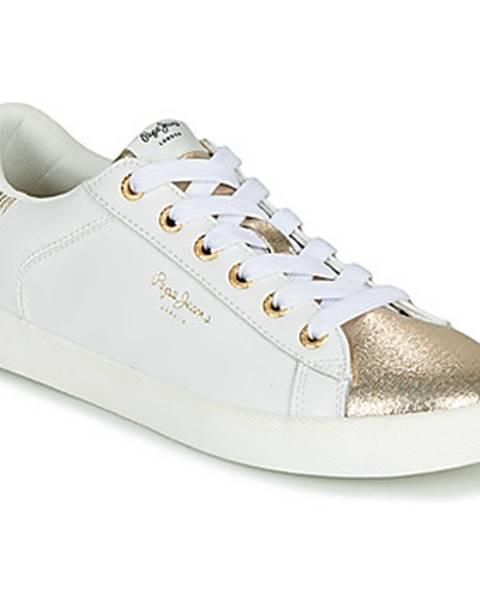 Biele tenisky Pepe jeans