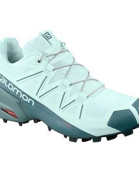 Zelené topánky Salomon