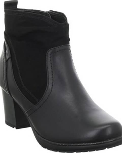 Čierne topánky Jana