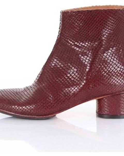 Červené topánky Kudeta'