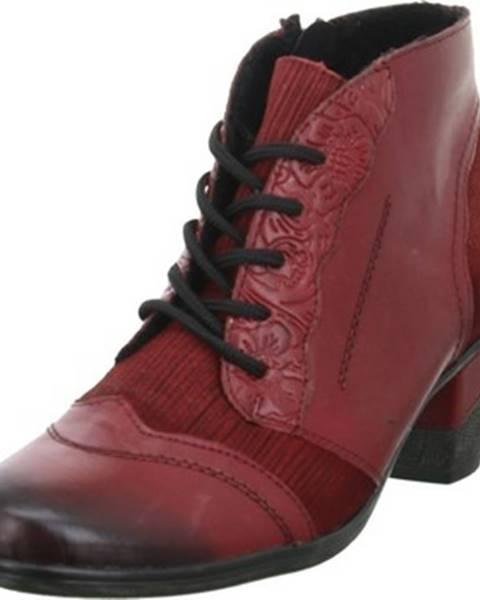 Červené topánky Remonte Dorndorf