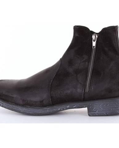 Čierne topánky Daniele Alessandrini