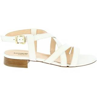 Sandále Leonardo Shoes  3126  VITELLO BIANCO