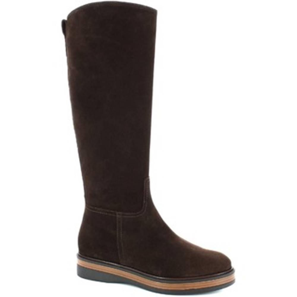 Leonardo Shoes Čižmy do mesta Leonardo Shoes  3861/5 VELVET EBANO
