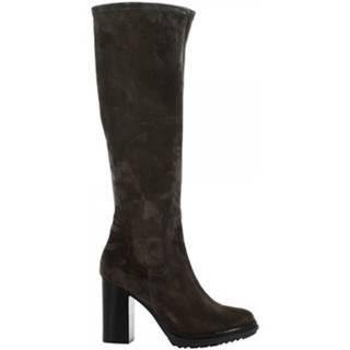 Čižmy do mesta Leonardo Shoes  4212/1 STIVALE LAVAGN SONIA