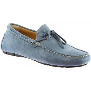 Mokasíny Leonardo Shoes  8103AF SOFTY BOEMIA