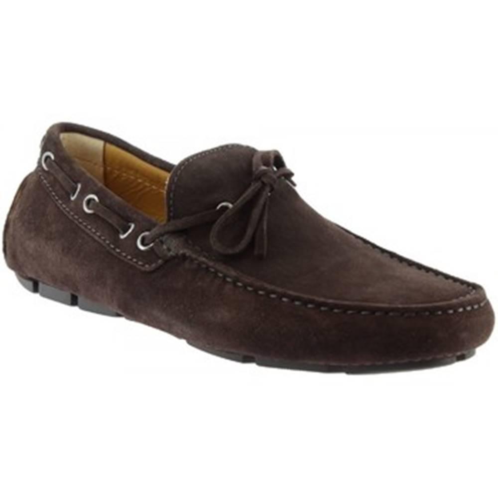 Leonardo Shoes Mokasíny Leonardo Shoes  8103AF SOFTY T. MORO