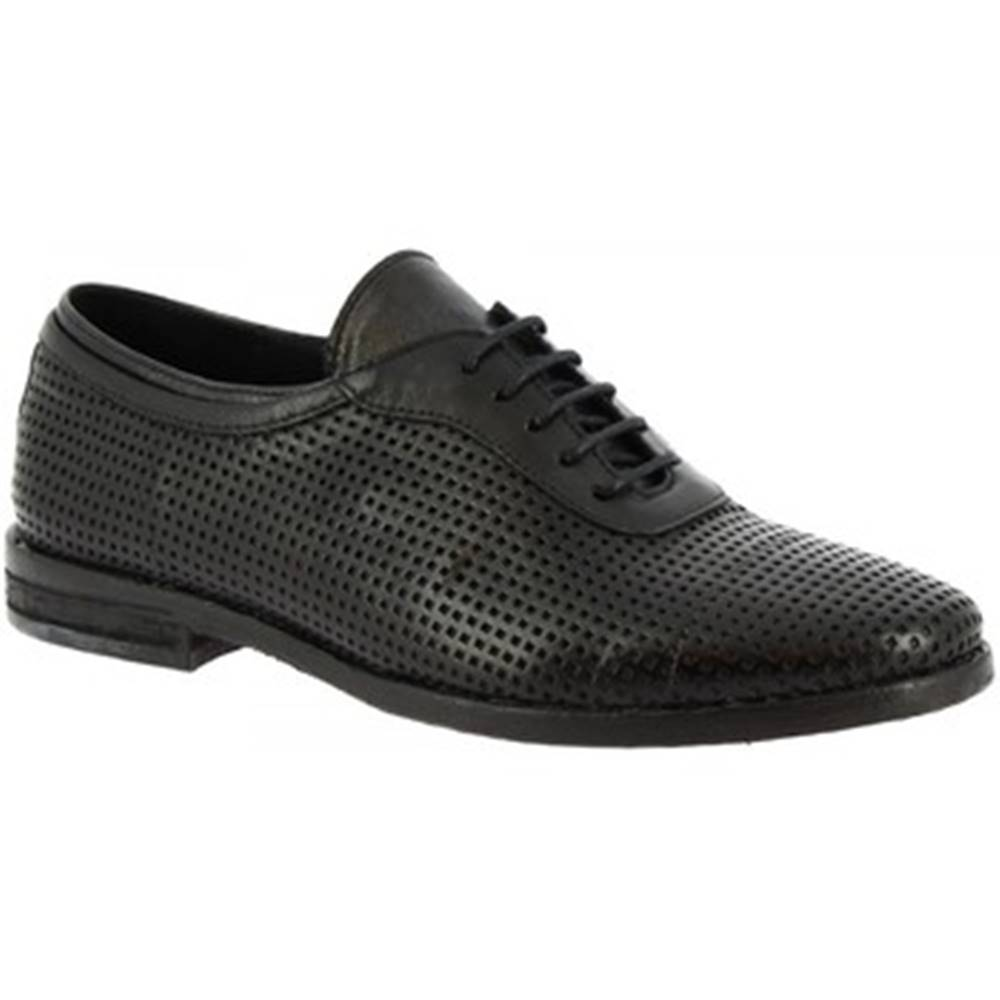 Leonardo Shoes Derbie Leonardo Shoes  W027 - 01 DAKAR NERO