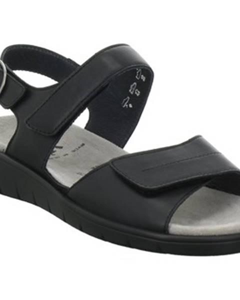 Čierne topánky Semler