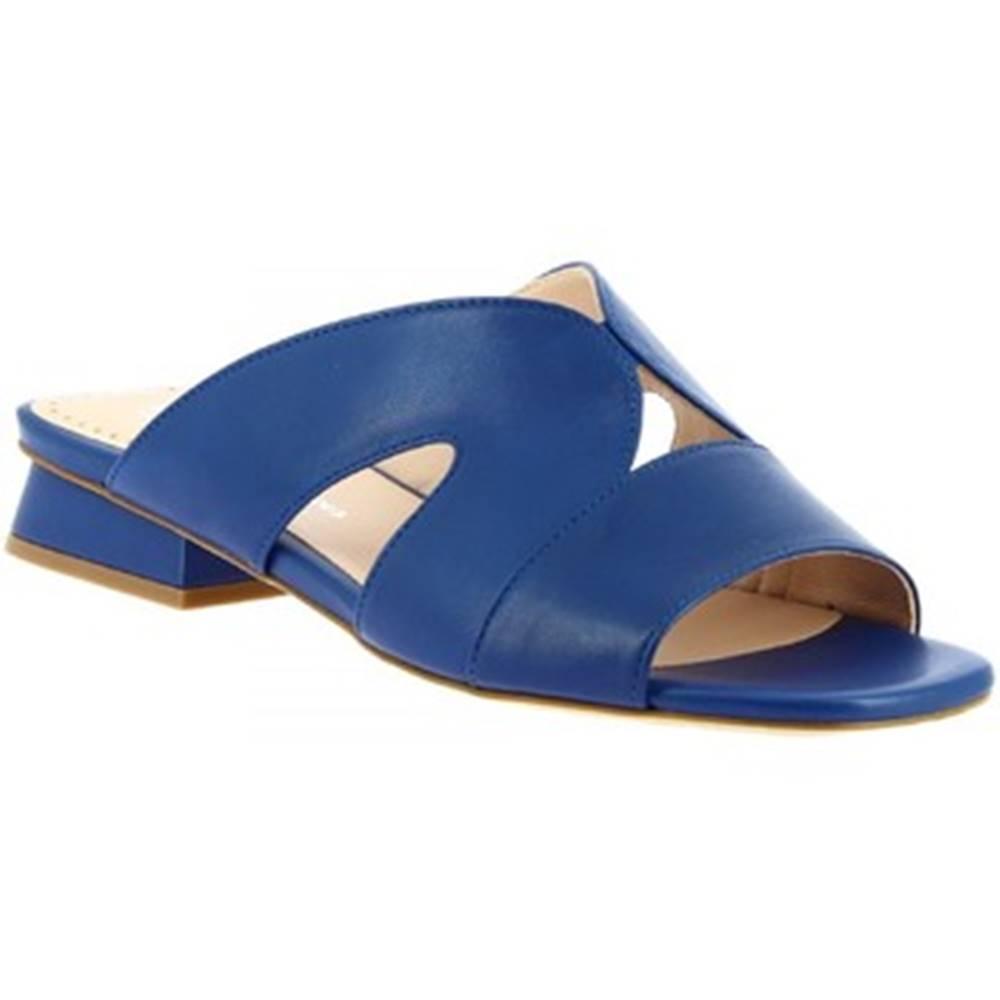 Leonardo Shoes Šľapky Leonardo Shoes  G13 NAPPA COBALTO