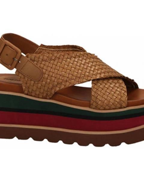 Béžové topánky Rahya Grey