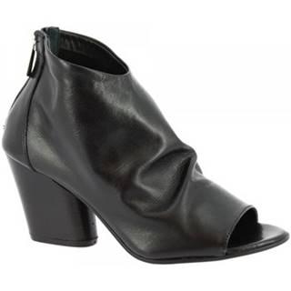 Čižmičky Leonardo Shoes  Z284 AMERICA NERO