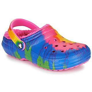 Nazuvky Crocs  CLASSIC LINED TIE DYE CLOG