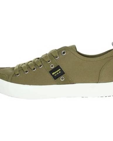 Zelené tenisky Blauer