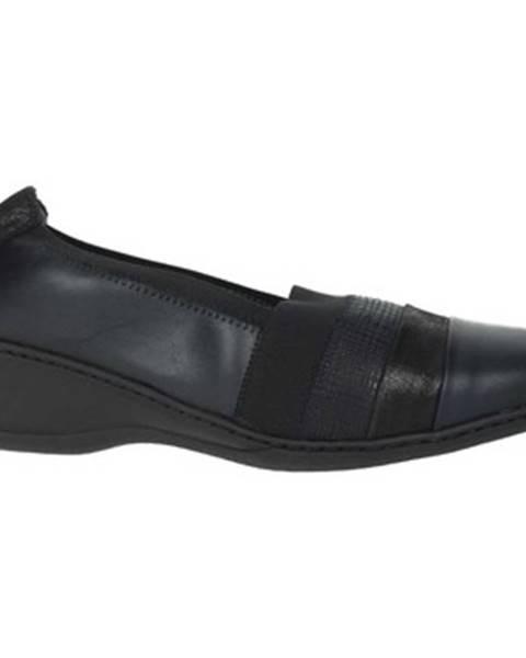 Čierne topánky Notton