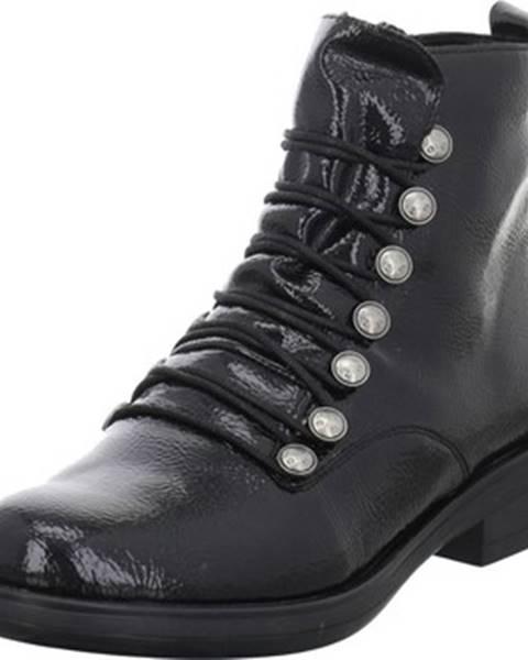Čierne topánky Remonte Dorndorf