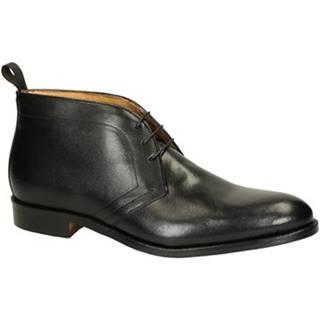Polokozačky Leonardo Shoes  07037 FORMA 40 NAIROBI NERO