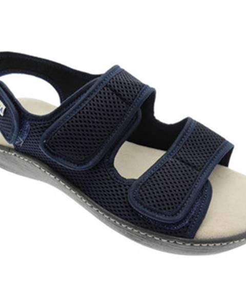 Modré sandále Emanuela