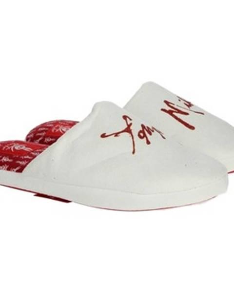 Biele papuče Tommy Mikino