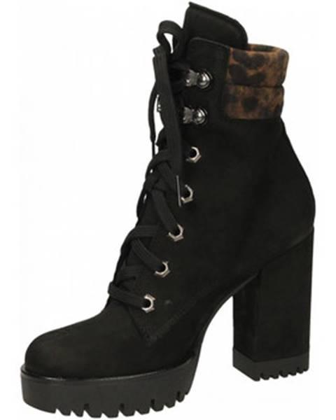 Čierne topánky Jeannot