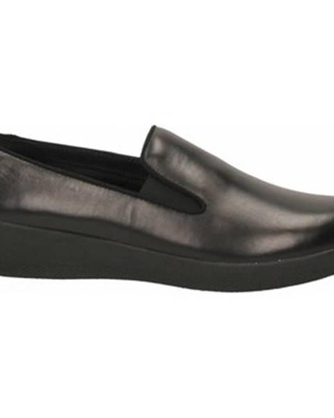 Čierne topánky FitFlop