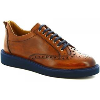 Derbie Leonardo Shoes  1119_1 VITELLO CUOI