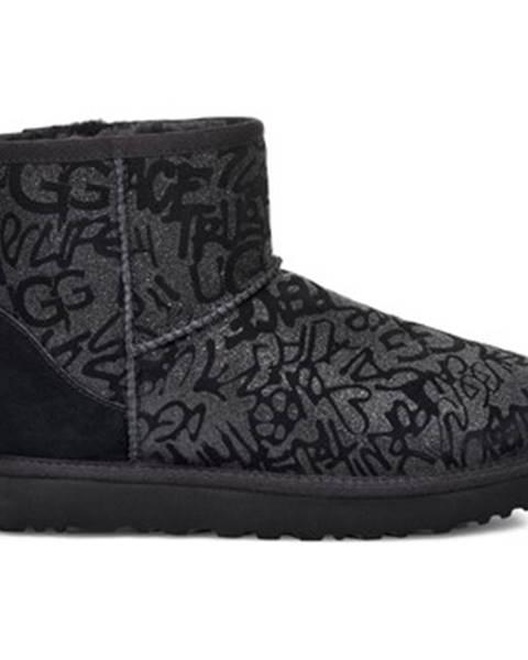 Viacfarebné topánky UGG