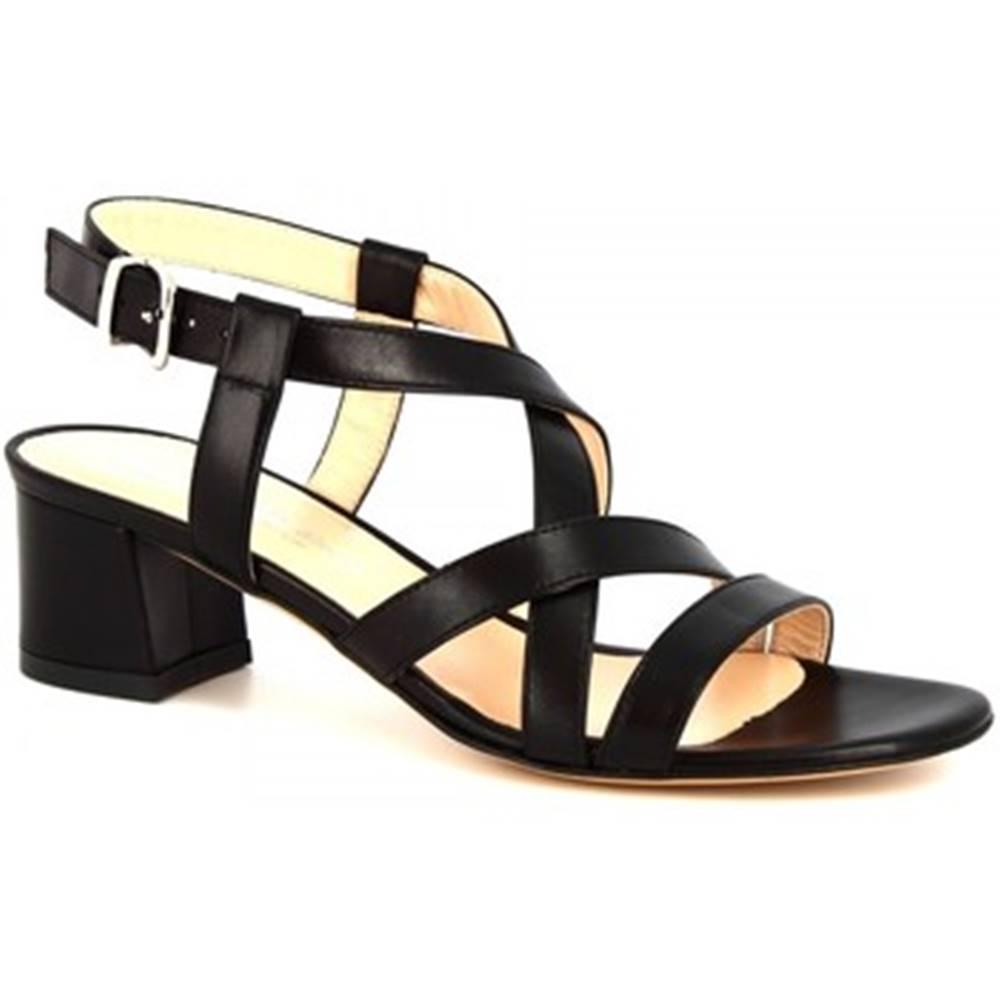 Leonardo Shoes Sandále Leonardo Shoes  5126 NAPPA NERO