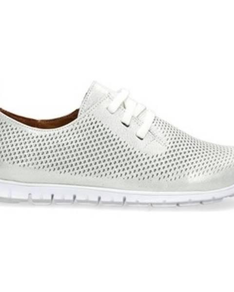 Strieborné topánky Badura