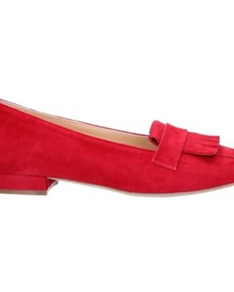 Červené topánky Cristian Daniel