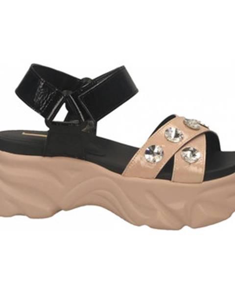 Ružové topánky Jeannot