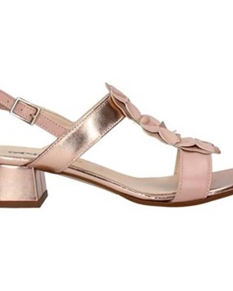 Ružové topánky Melluso