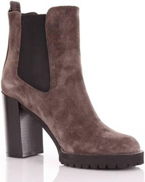Hnedé topánky Evaluna