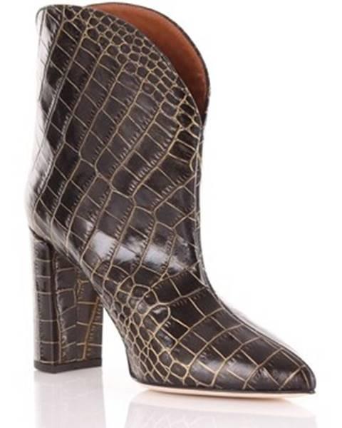 Viacfarebné topánky Paris Texas