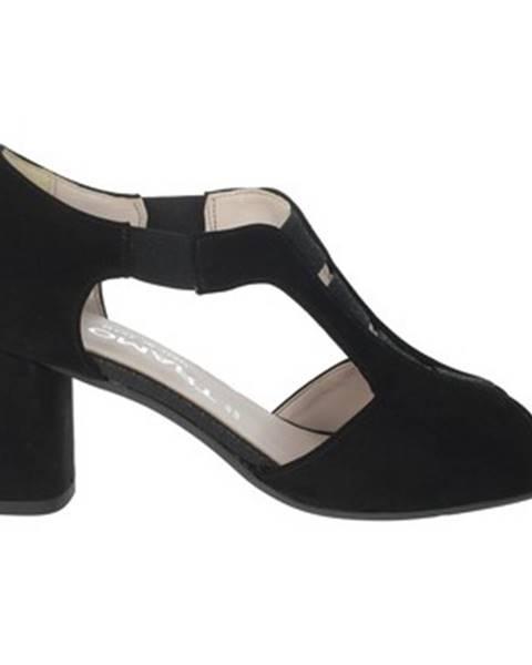 Čierne topánky Comart