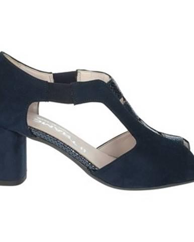 Modré topánky Comart