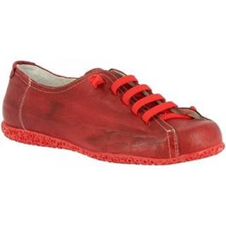Derbie Leonardo Shoes  1269PINTA ROSSO BORDO
