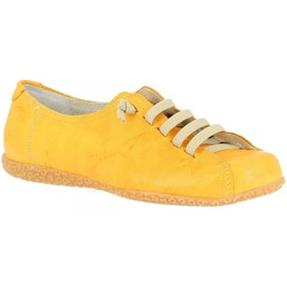 Leonardo Shoes Derbie Leonardo Shoes  1269PINTA GIALLO