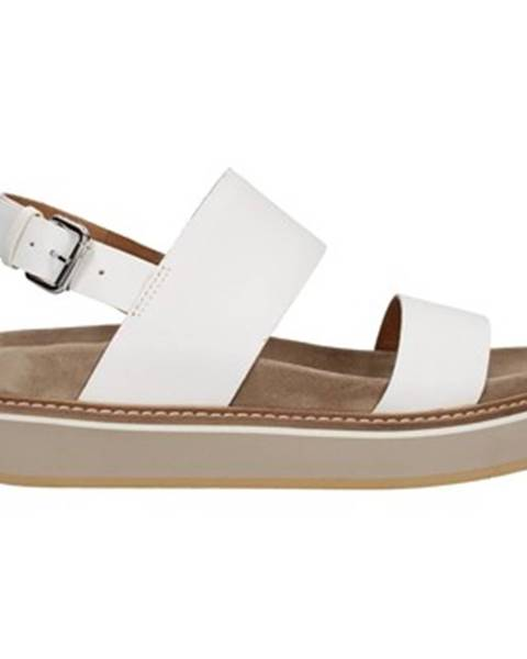 Biele topánky Janet Sport