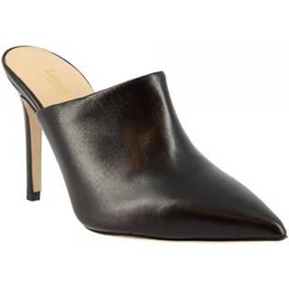 Sandále Leonardo Shoes  1338 NAPPA NERO