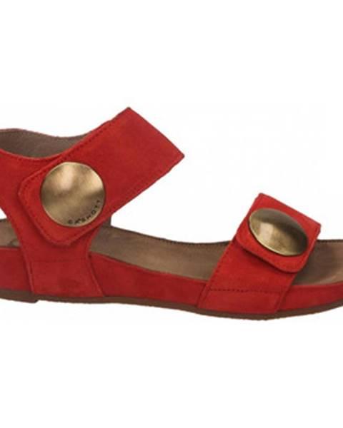 Červené topánky Ca Shott