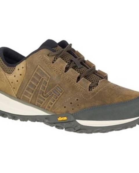 Hnedé topánky Merrell