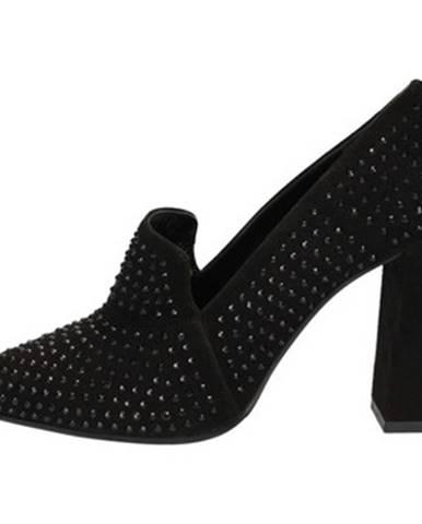 Čierne topánky Norah