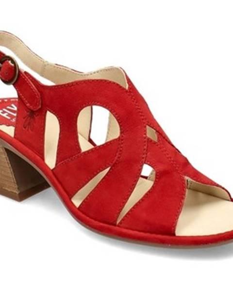 Červené topánky Fly London
