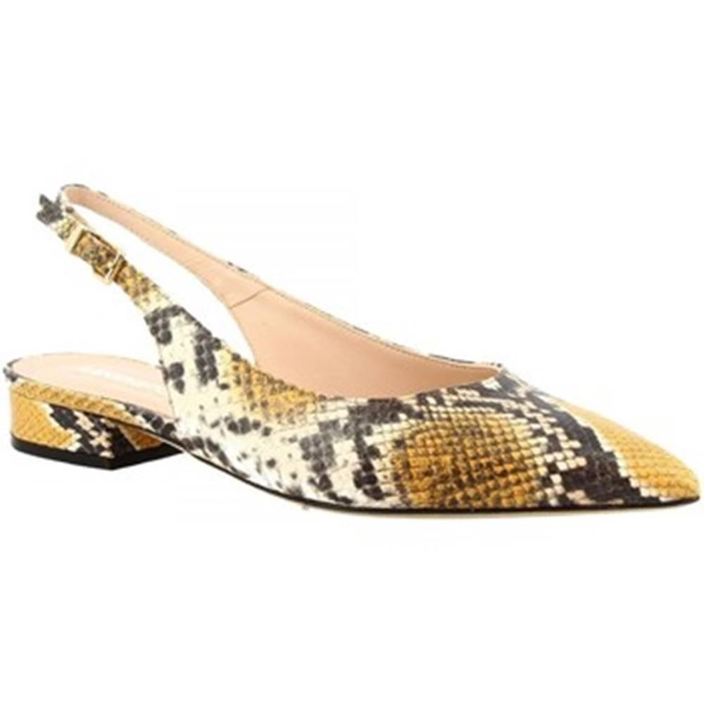 Leonardo Shoes Balerínky/Babies Leonardo Shoes  138 DIAMANTE SOLE