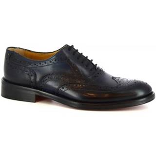 Derbie Leonardo Shoes  SIVIGLIA T115 BLEU