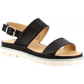 Sandále Leonardo Shoes  VI-48 NERO