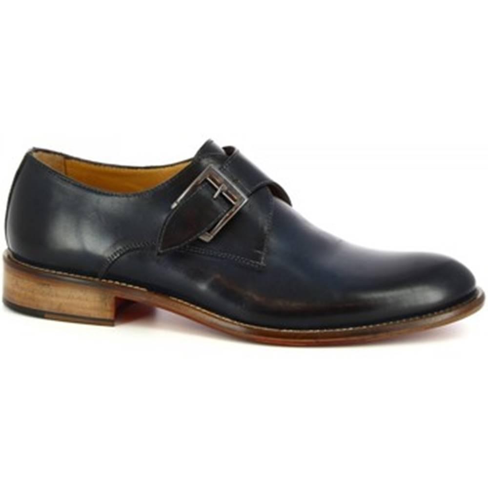 Leonardo Shoes Derbie Leonardo Shoes  T111 SIVIGLIA BLEU
